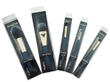 Кисть для макияжа глаз, плоская, МЗ-11-1