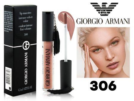 Глянцевый блеск Giorgio Armani Lip Maestro, ТОН 306