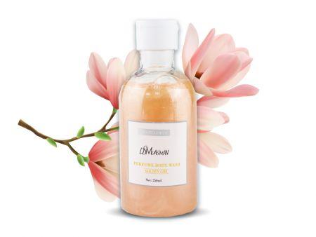 Парфюмированный гель для душа Золотые цветы D.S.Mdaisiman Nicotinamide, 250 ml